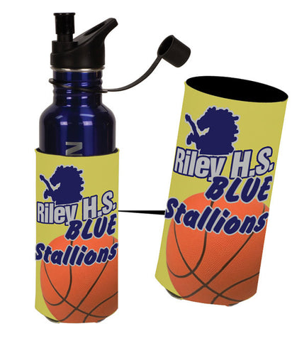 Custom Foam Water Bottle Koozie - EZ Corporate Clothing  - 2