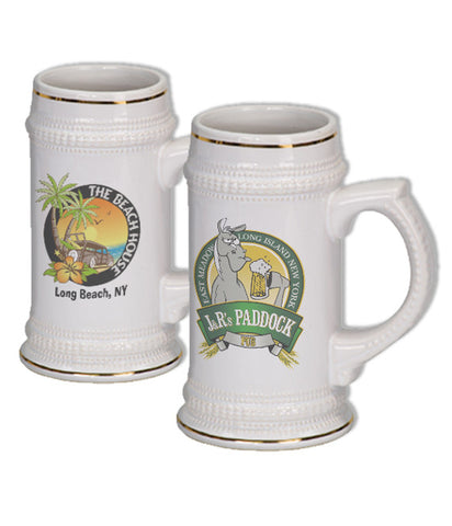 Custom Stein with Logo - EZ Corporate Clothing  - 2