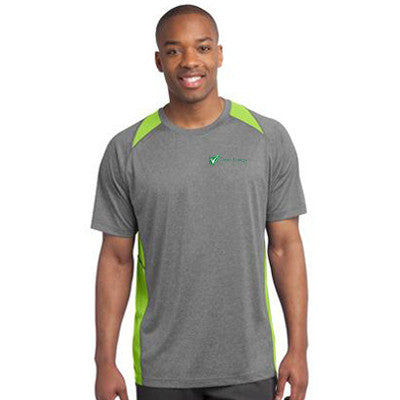 Sport-Tek Heather Colorblock Contender Tee - Clean Energy Collective - EZ Corporate Clothing  - 1