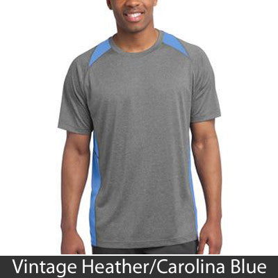 Sport-Tek Heather Colorblock Contender Tee - Clean Energy Collective - EZ Corporate Clothing  - 3