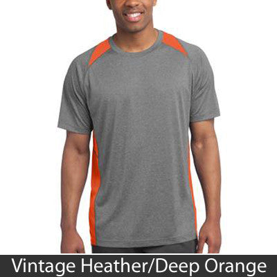 Sport-Tek Heather Colorblock Contender Tee - Clean Energy Collective - EZ Corporate Clothing  - 4