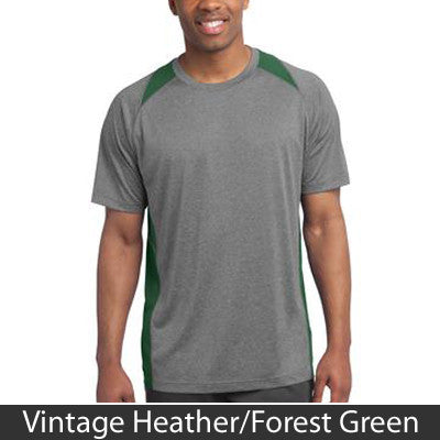 Sport-Tek Heather Colorblock Contender Tee - Clean Energy Collective - EZ Corporate Clothing  - 5