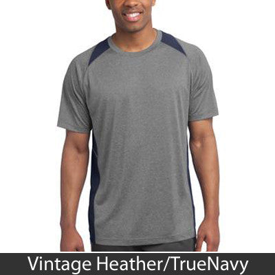 Sport-Tek Heather Colorblock Contender Tee - Clean Energy Collective - EZ Corporate Clothing  - 10