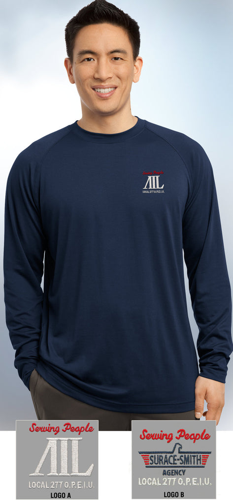 Sport-Tek Long-Sleeve Ultimate Performance Crewneck - AIL - EZ Corporate Clothing  - 1