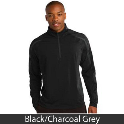 Sport-Tek Stretch 1/2-Zip Colorblock Pullover - Clean Energy Collective - EZ Corporate Clothing  - 2