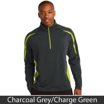 Sport-Tek Stretch 1/2-Zip Colorblock Pullover - Clean Energy Collective - EZ Corporate Clothing  - 4