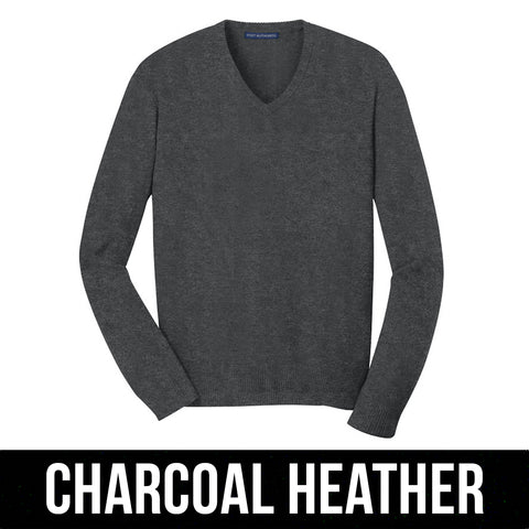 Port Authority V-Neck Sweater - Clean Energy Collective