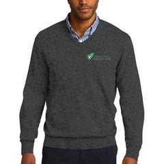 Port Authority V-Neck Sweater - Clean Energy Collective - EZ Corporate Clothing  - 1