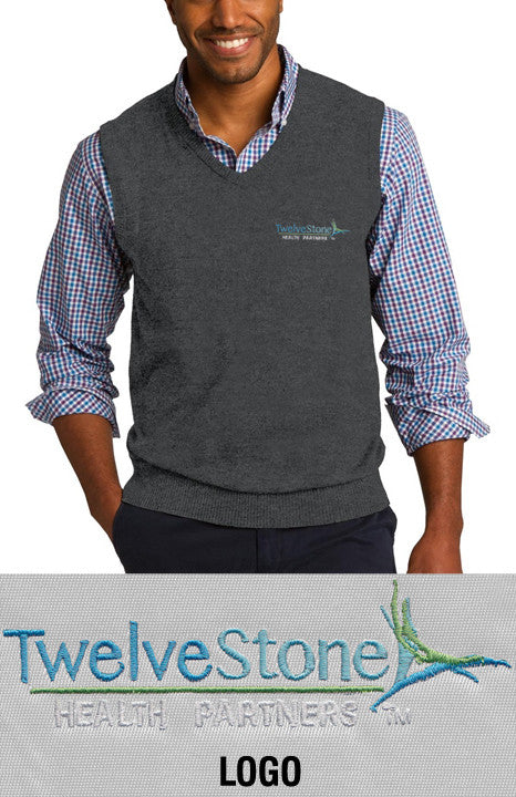 Port Authority Sweater Vest - TwelveStone Health Partners