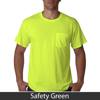 Jerzees Heavyweight Blend T-Shirt with Pocket - EZ Corporate Clothing  - 12