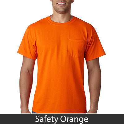 Jerzees Heavyweight Blend T-Shirt with Pocket - EZ Corporate Clothing  - 13