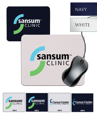 Sansum Clinic Square Mousepad - EZ Corporate Clothing  - 2