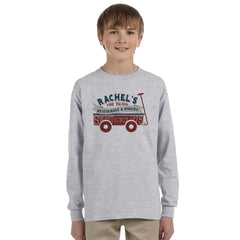 Jerzees Youth Long-Sleeve Heavyweight Blend T-Shirt