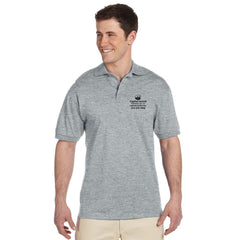 Jerzees Adult Heavyweight Cotton Jersey Polo - Printed