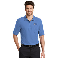 Port Authority Silk Touch Polo With Pocket - Printed
