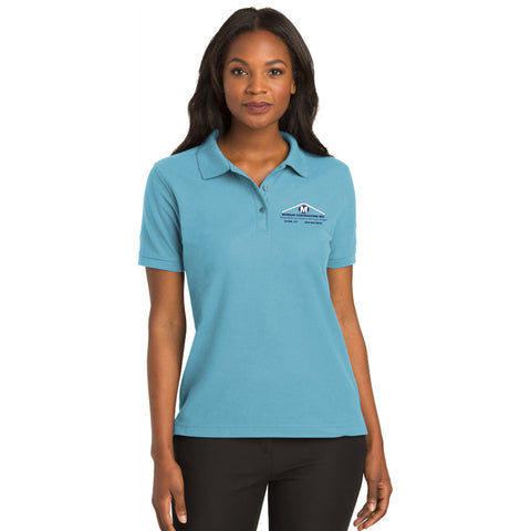 Port Authority Ladies Silk Touch Polo - Printed
