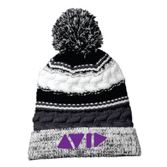 Sport-Tek Pom Pom Team Beanie for AVID - STC21