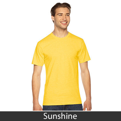 American Apparel Unisex Fine Jersey Short Sleeve T-Shirt - EZ Corporate Clothing  - 47