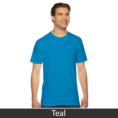 American Apparel Unisex Fine Jersey Short Sleeve T-Shirt - EZ Corporate Clothing  - 48