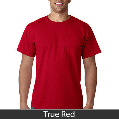 Jerzees Heavyweight Blend T-Shirt with Pocket - EZ Corporate Clothing  - 14