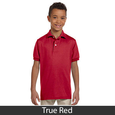 Jerzees Youth Jersey Polo With Spotshield - Printed - EZ Corporate Clothing  - 13