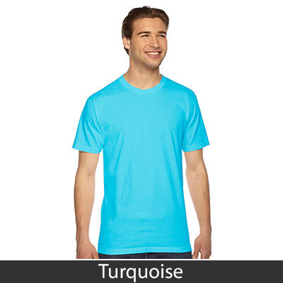 American Apparel Unisex Fine Jersey Short Sleeve T-Shirt - EZ Corporate Clothing  - 50