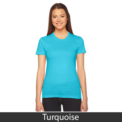 American Apparel Fine Jersey Short Sleeve Womens T - EZ Corporate Clothing  - 45