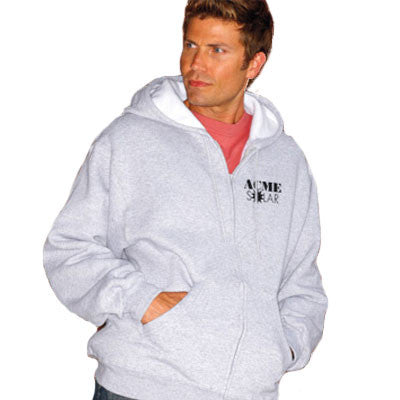 Fruit Of The Loom Supercotton Full-Zip Hooded Sweatshirt - EZ Corporate Clothing  - 1
