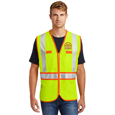 CornerStone Two-Tone Safety Vest - ANSI 107 Class 2