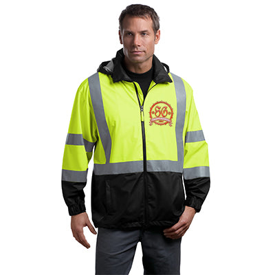 Cornerstone Safety Hi-Vis Windbreaker Jacket - ANSI 107 Class 3