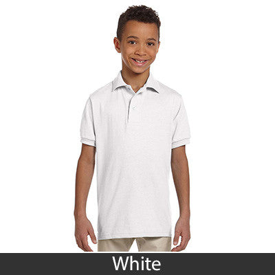 Jerzees Youth 5.6oz, 50/50 Jersey Polo With SpotShield - EZ Corporate Clothing  - 14