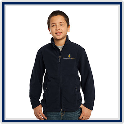 Port Authority Youth Value Fleece Jacket - Stachowski Farms - Y217