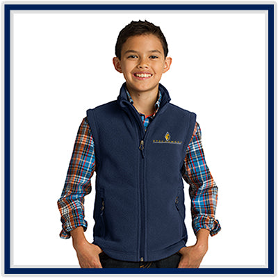 Port Authority Youth Value Fleece Vest - Stachowski Farms - Y219
