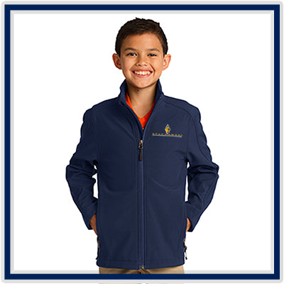 Port Authority Youth Core Soft Shell Jacket - Stachowski Farms - Y317