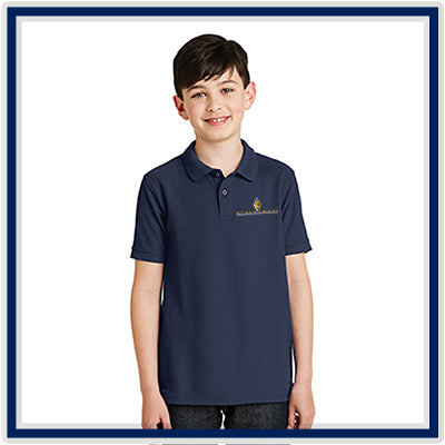 Port Authority Youth Silk Touch Polo - Stachowski Farms - Y500