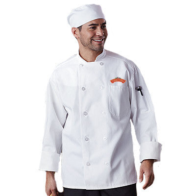 Classic Chef Coat with Mesh