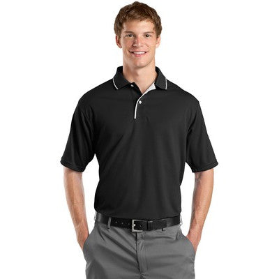 Sport-Tek Men's Dri-Mesh Polo with Tipped Collar & Piping - AIL - EZ Corporate Clothing  - 2