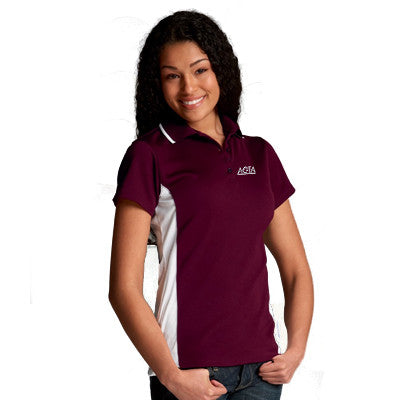 Charles River Womens Color Blocked Wicking Polo