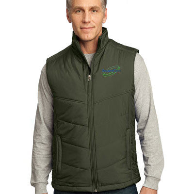 Port Authority Mens Puffy Vest - EZ Corporate Clothing  - 1