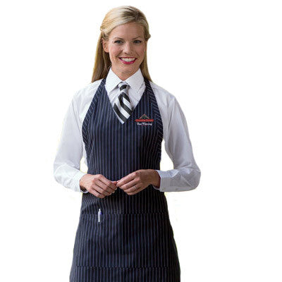 Custom Formal V-Neck Apron - EZ Corporate Clothing  - 1
