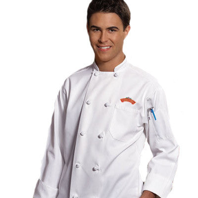 Classic Knot Chef Coat - EZ Corporate Clothing  - 1