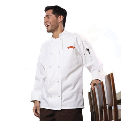 Classic Knot Chef Coat with Mesh