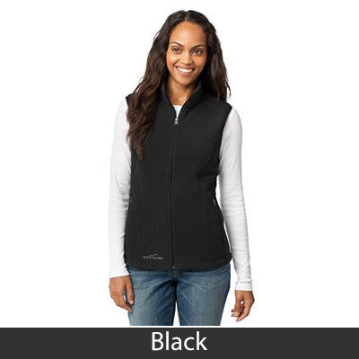 1- Eddie Bauer Ladies Fleece Vest - EB205 - EZ Corporate Clothing  - 2
