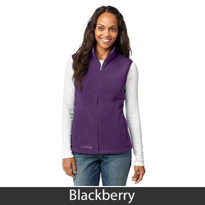 1- Eddie Bauer Ladies Fleece Vest - EB205 - EZ Corporate Clothing  - 3