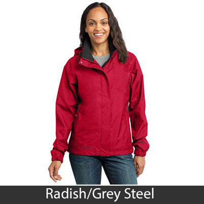 1- Eddie Bauer Ladies Rain Jacket - EB551 - EZ Corporate Clothing  - 4