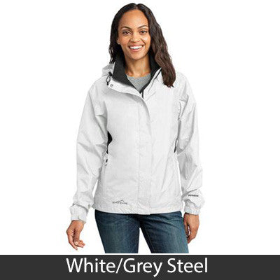 1- Eddie Bauer Ladies Rain Jacket - EB551 - EZ Corporate Clothing  - 5