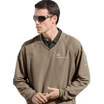Nike Golf V-Neck Wind Shirt - EZ Corporate Clothing  - 1