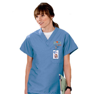 Cornerstone Reversible V-Neck Scrub Top - EZ Corporate Clothing  - 1