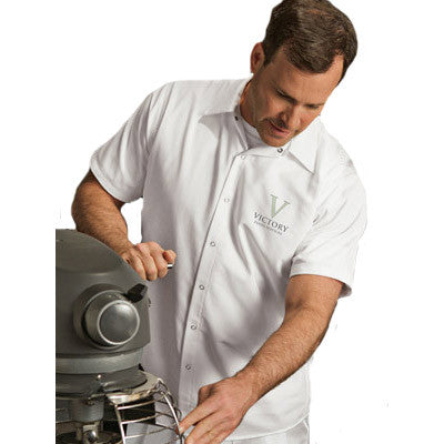 Custom Logo Embroidered Kitchen Shirts