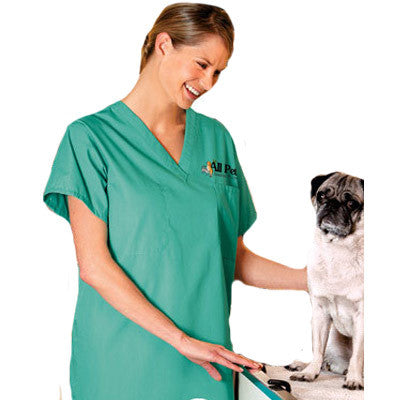Custom Logo Embroidered Medical Scrubs